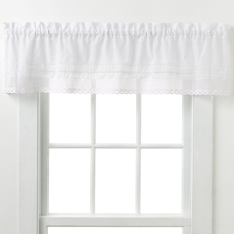CHF and You Crochet Valance