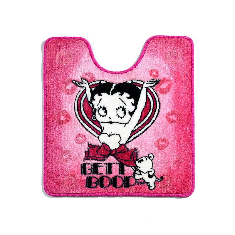 Popular Bath Betty Boop Contour Bath Rug