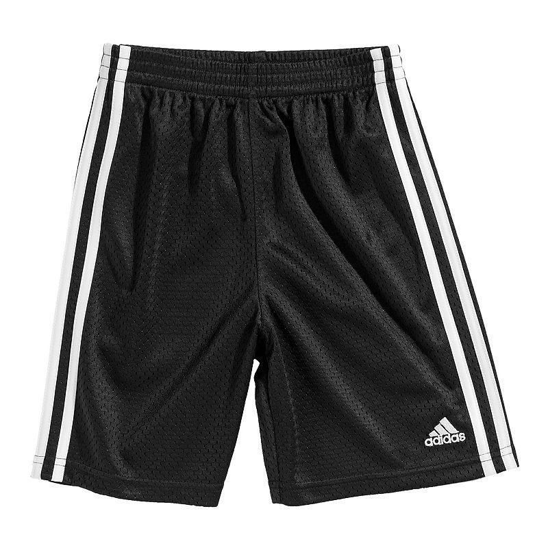 Toddler adidas Side-Striped Mesh Shorts