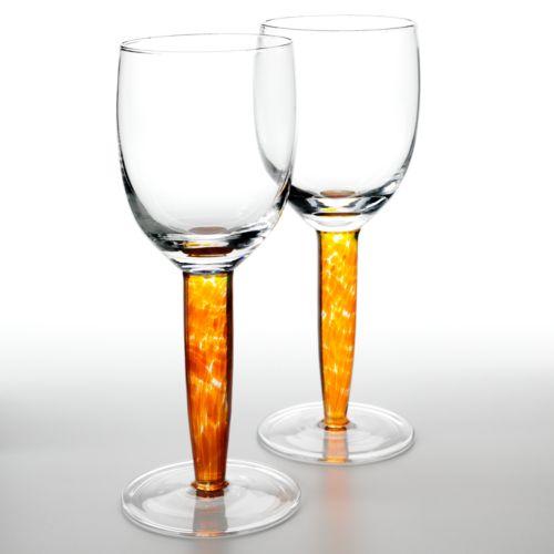 Denby Fire 2-pc. Red Wine Glass Set