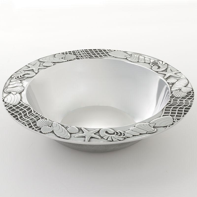 Wilton Armetale Seashore Medium Serving Bowl