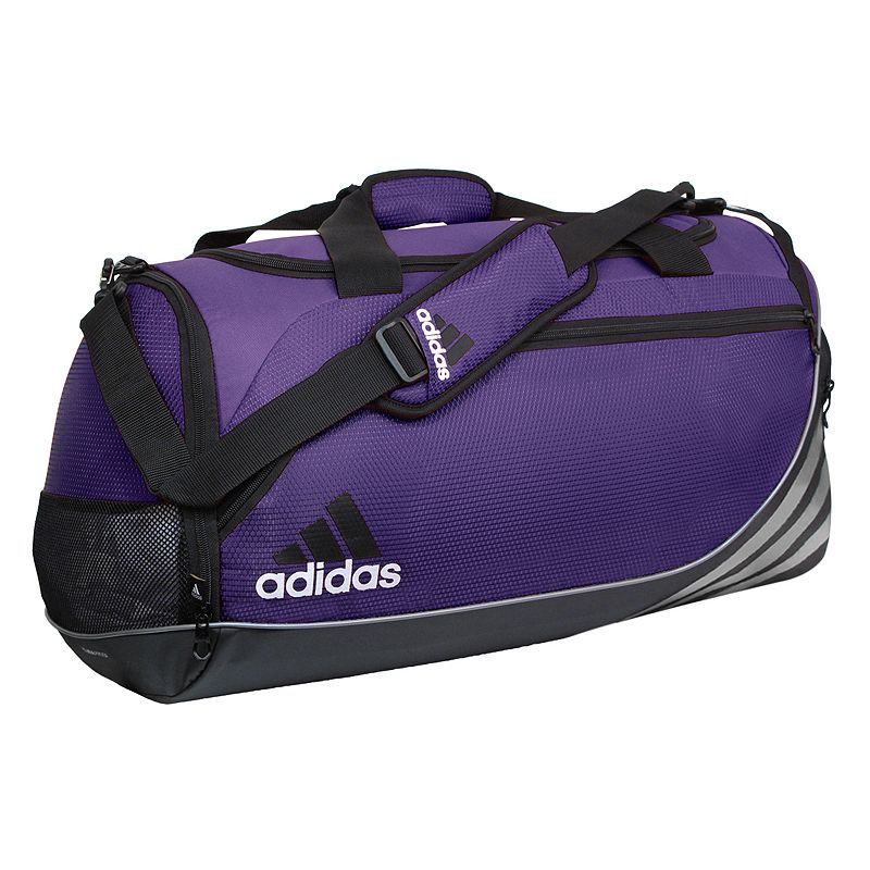 Adidas Team Speed Duffel Bag - Medium, Purple