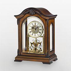 Bulova Durant Wood Mantel Clock B1845 by
