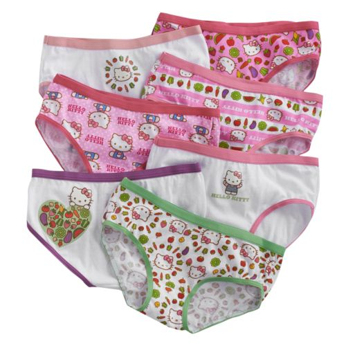 Hello Kitty® 7-pk. Hipsters - Girls