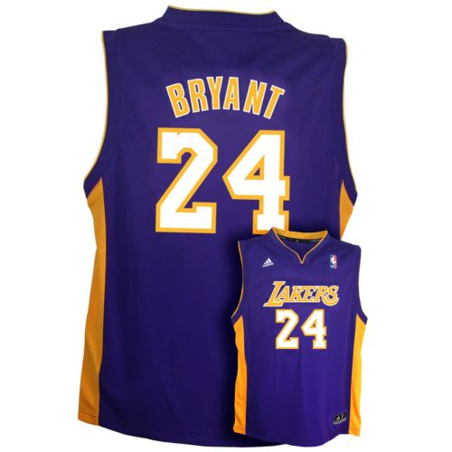 Boys 8-20 adidas Los Angeles Lakers Kobe Bryant Team Color NBA Jersey