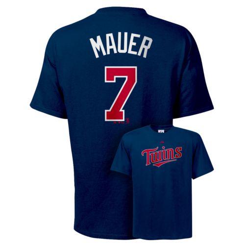 Majestic Minnesota Twins Joe Mauer Tee - Big and Tall