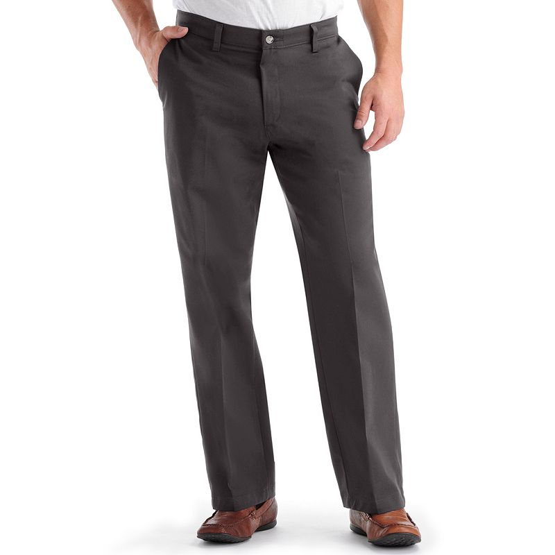 Men's Lee Comfort Fit Straight-Fit Easy-Care Flat-Front Pants