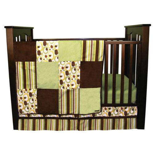 Trend Lab Giggles 3-pc. Crib Bedding Set