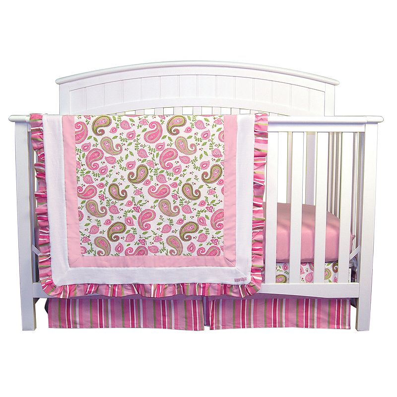 Trend Lab Paisley Park 3-pc. Crib Bedding Set