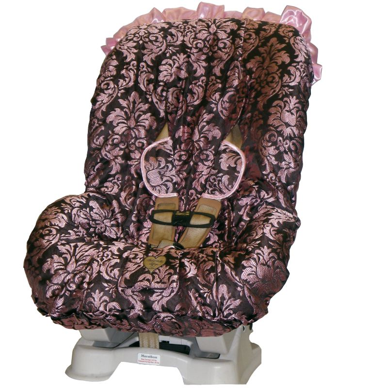 Baby Bella Maya Pink Champagne Toddler Car Seat Cover thumbnail