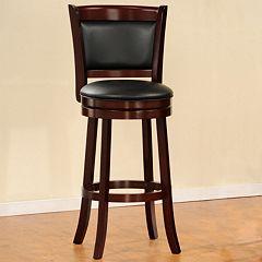 HomeVance Swivel Pub Chair by