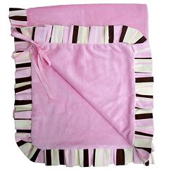 Baby Bella Maya Pixie Stix Plush Stroller Blanket by