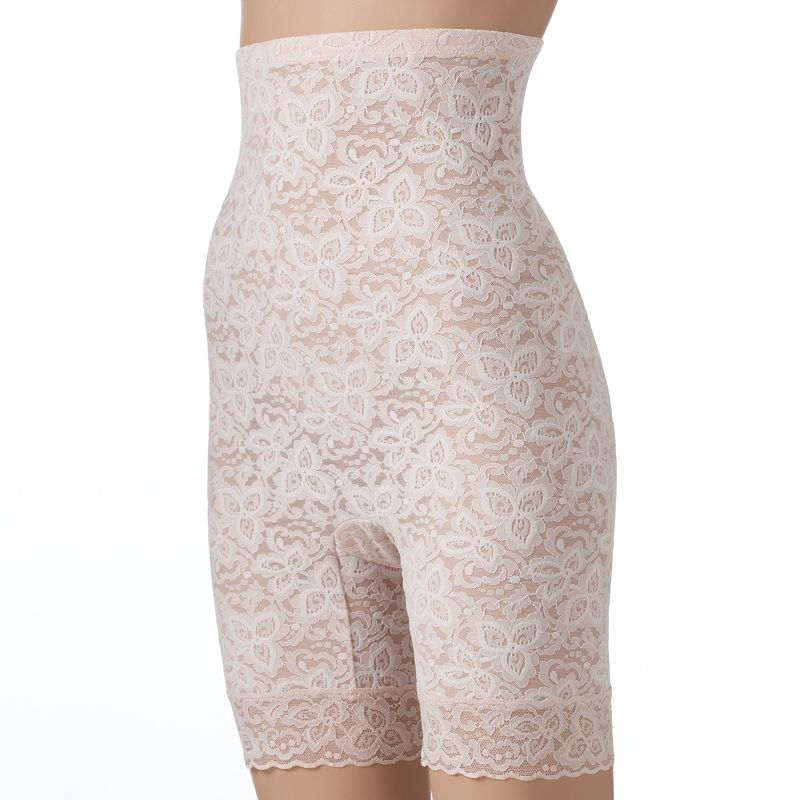Bali Lace 'N Smooth Firm Control High-Waist Thigh Slimmer 8L11 - Women's