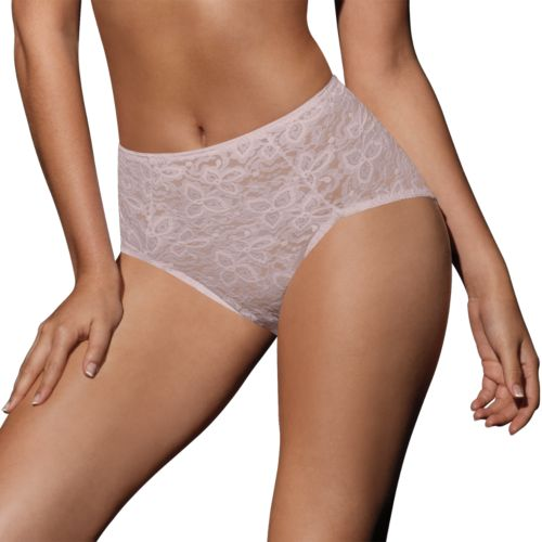 Bali Lace N Smooth Firm-Control Brief - 8L14