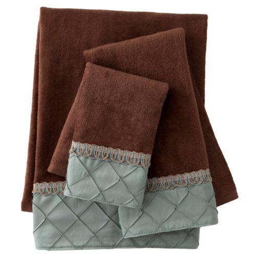 Sherry Kline Pleated Diamond 3-pc. Decorative Towel Set