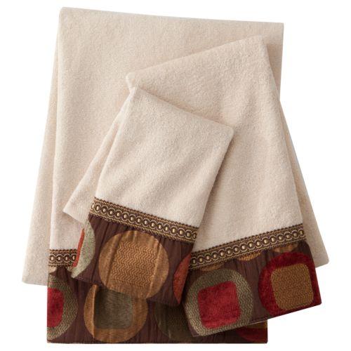 Sherry Kline Metro 3-pc. Decorative Towel Set