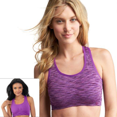 Lily of France Bra: Reversible Medium-Impact Sports Bra: 2151801 - Women's