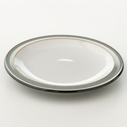 Denby Jet Grey Tea Plate