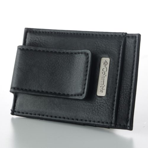 Columbia Leather Card Case Wallet