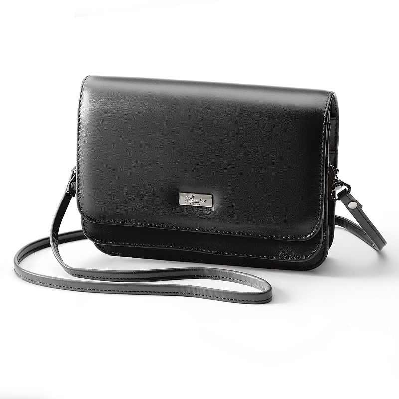 Buxton Double-Flap Convertible Shoulder Bag