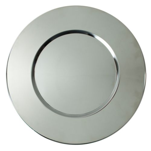 Charge It Bridal Round Charger Plate