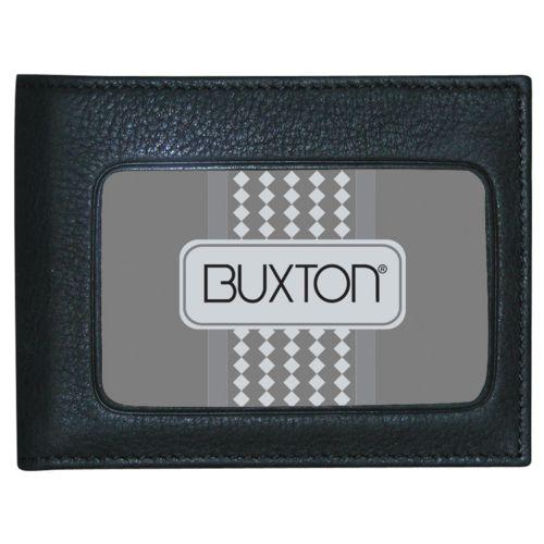 Buxton Mountaineer ID Leather Billfold Wallet
