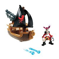 Disney Jake and the Never Land Pirates Captain Hook's Battle Boat by Fisher-Price