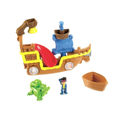 Disney Jake and the Never Land Pirates Splashin' Bucky Bath Toy by Fisher-Price