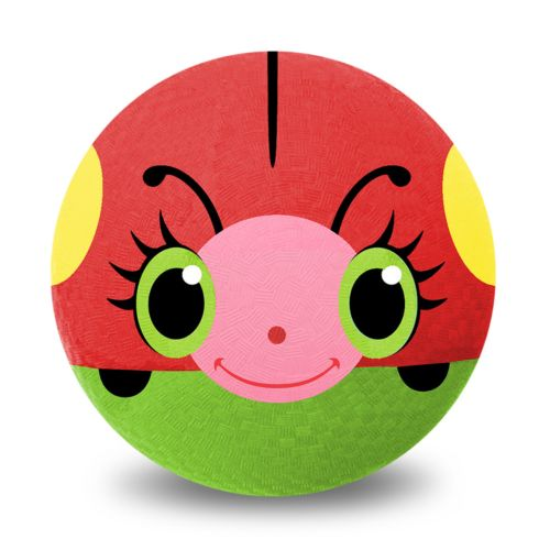 Melissa and Doug Bollie Ladybug 8.5-in. Rubber Kickball