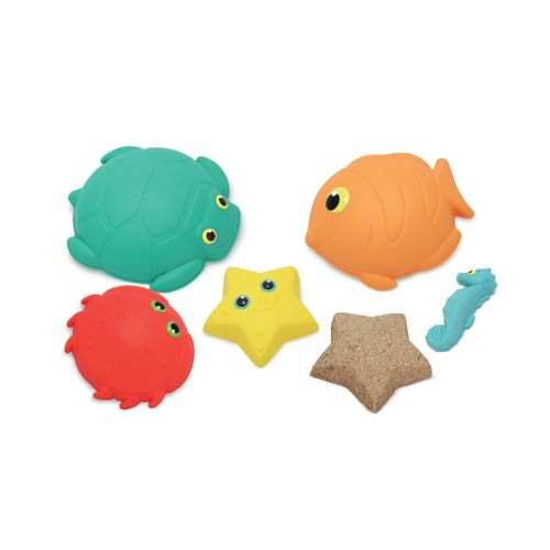Melissa and Doug Seaside Sidekicks 5-pc. Sand-Molding Set