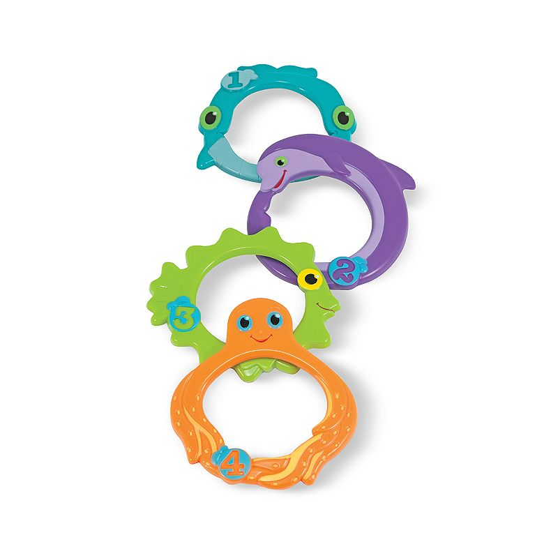 Melissa and Doug Maritime Mates Sink and Seek Rings