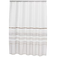 Home Classics Shimmer Fabric Shower Curtain by