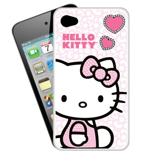Sakar Hello Kitty iPhone 4S Hard Cell Phone Case