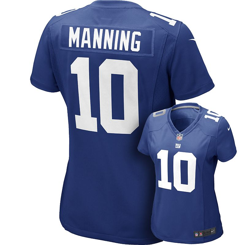 Women's Nike New York Giants Eli Manning Jersey