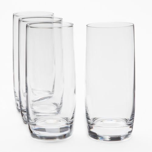 Food Network™ Pour 4-pc. Crystal Highball Glass Set
