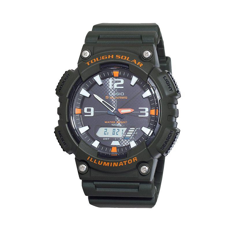 Casio Men's Tough Solar Illuminator Analog & Digital Chronograph Watch