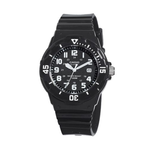Casio Black Resin Watch - LRW200H-1BVCF - Women