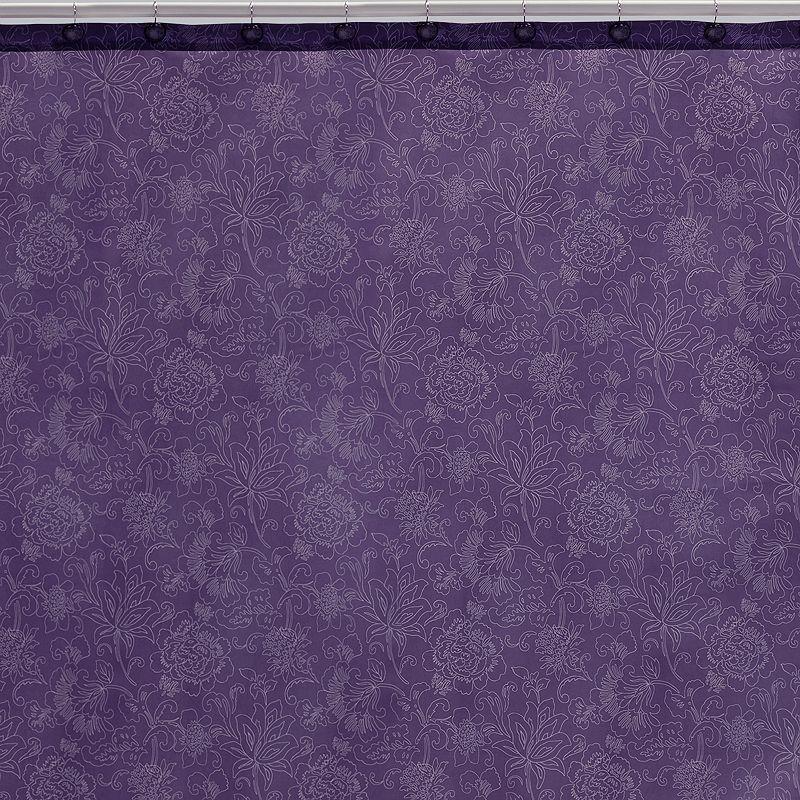 Creative Bath Fine Line Fabric Shower Curtain