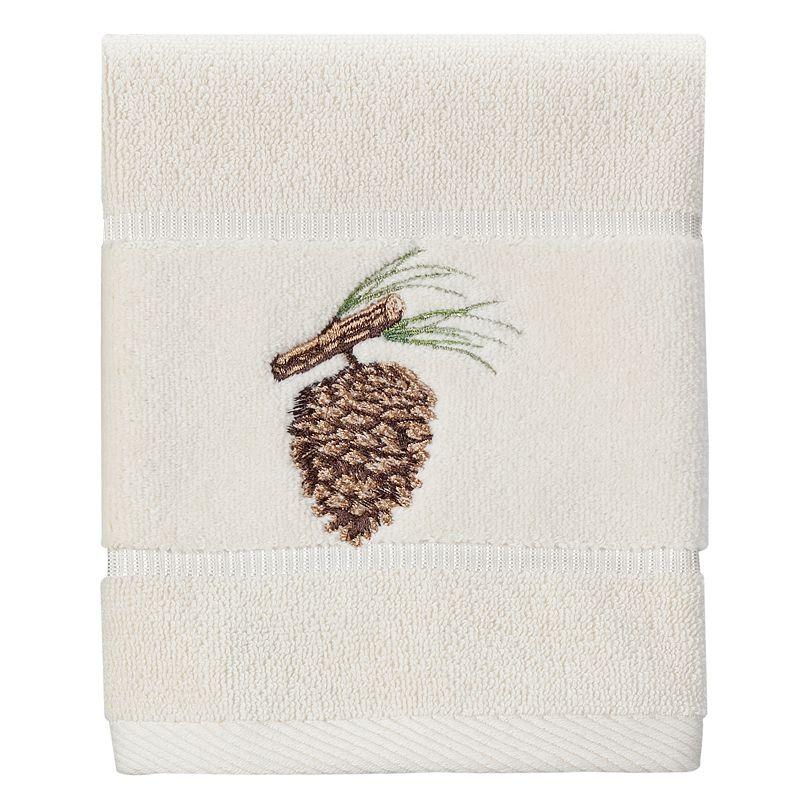 Creative Bath Christmas Northwoods Washcloth