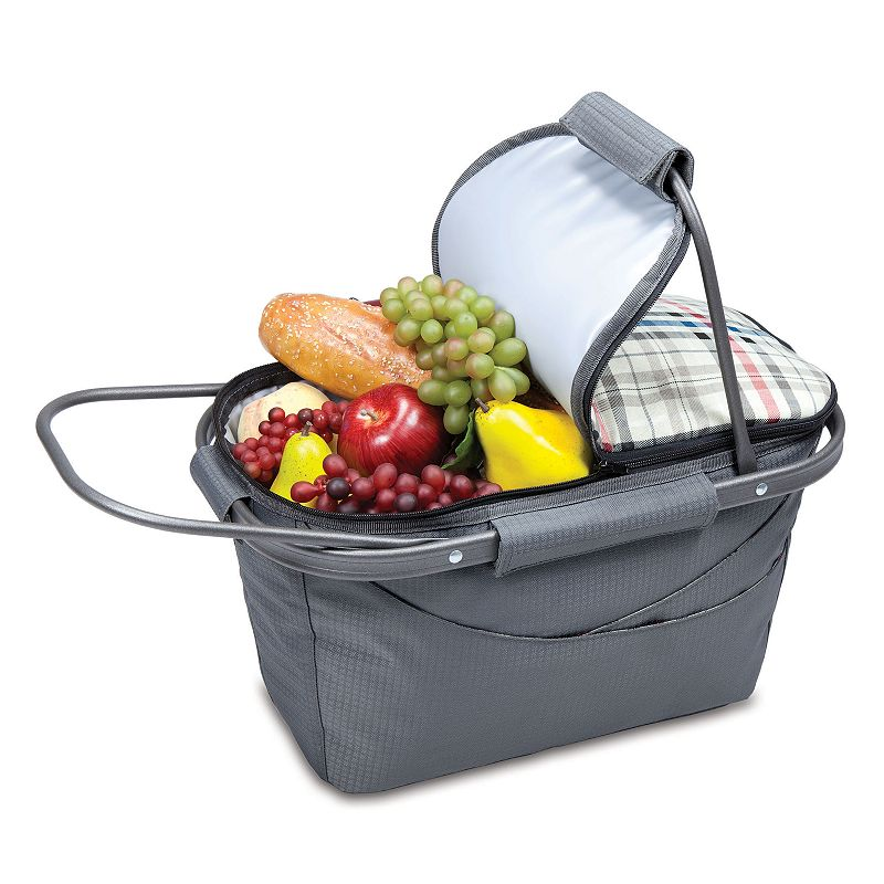 Picnic Time Kensington Insulated Picnic Basket