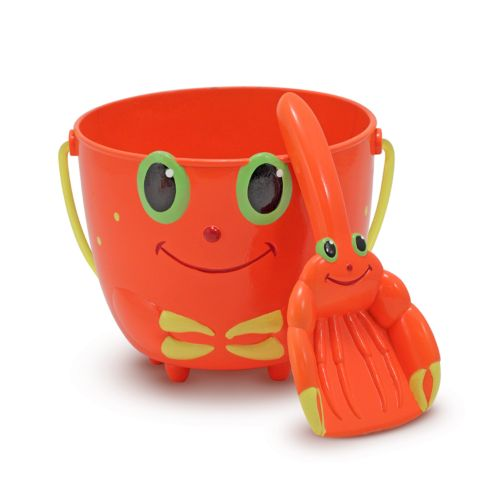 Melissa and Doug Clicker Crab Pail and Scoop