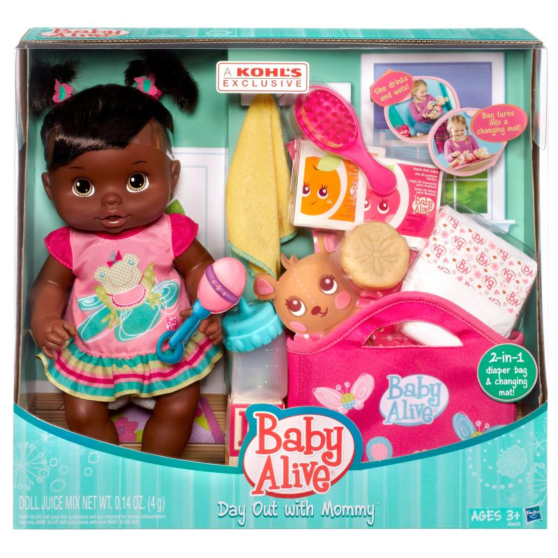 Baby Alive Day Out with Mommy Doll Set by Hasbro