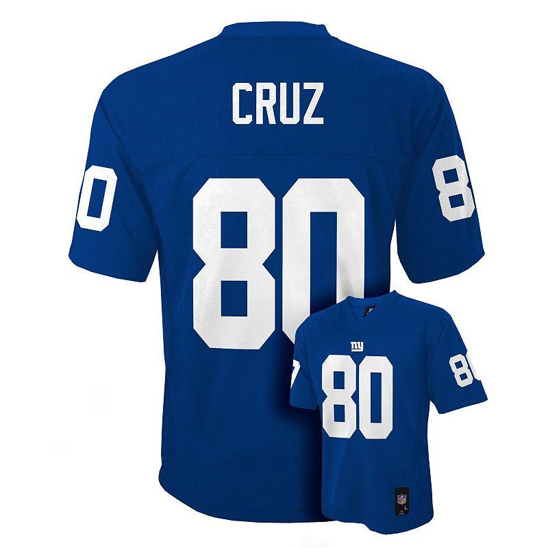 Boys 8-20 New York Giants Victor Cruz NFL Jersey