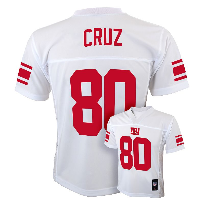 Boys 8-20 New York Giants Victor Cruz NFL Jersey