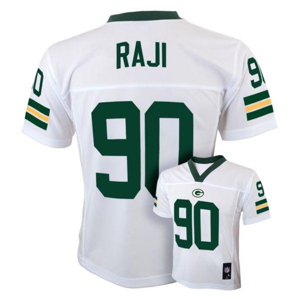 Boys 8-20 Green Bay Packers BJ Raji Jersey