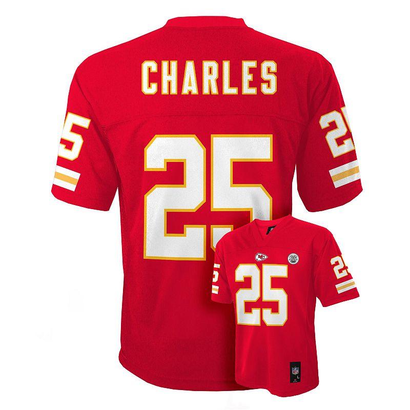 Boys 8-20 Kansas City Chiefs Jamaal Charles NFL Jersey