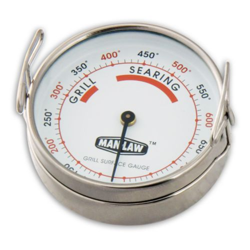 Man Law BBQ Grill Surface Thermometer
