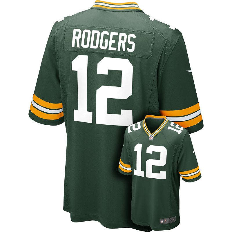Green Bay Packers Aaron Rodgers YOUTH Jerseys