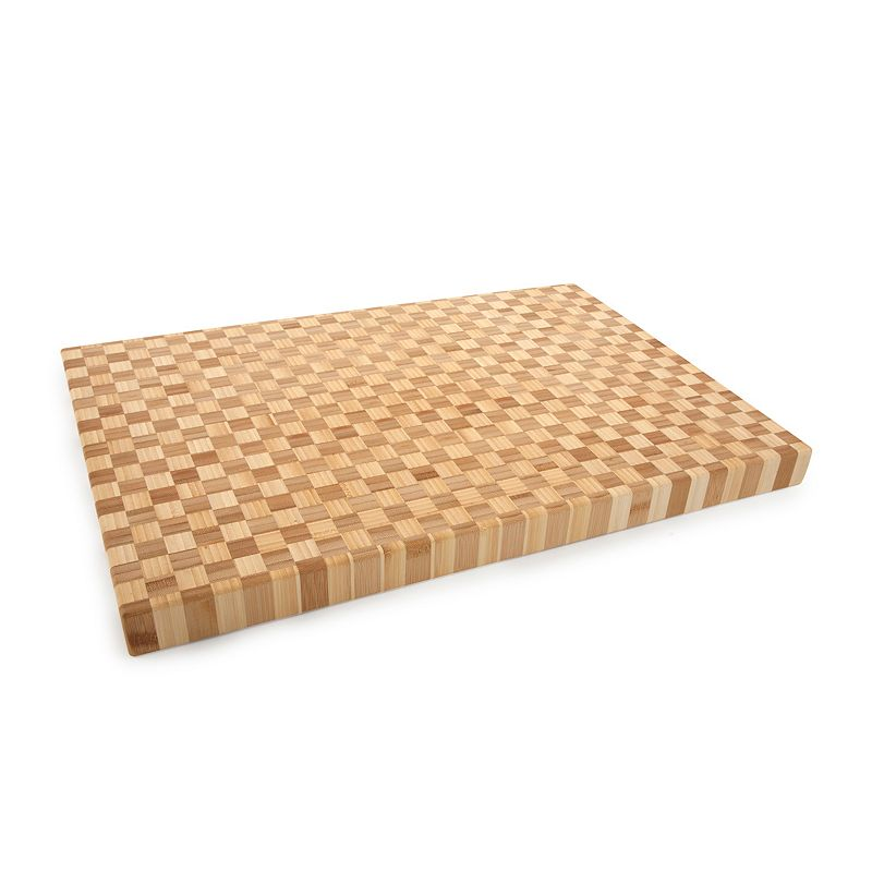Core Bamboo Pro-Chef Extra Large Checkered Chopping Block