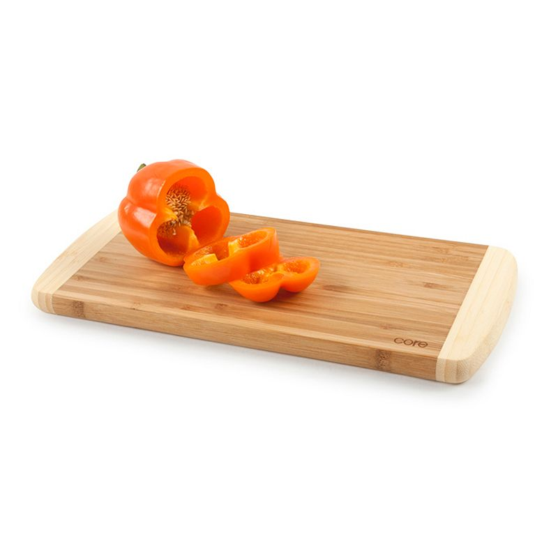 Core Bamboo Peony Collection Long Cutting Board